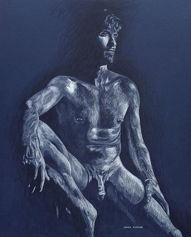 Daniel in blue